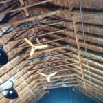 Renovated Barn Ceiling